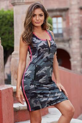 Camo Print Sport Dress