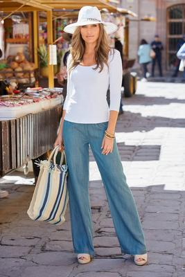 Summer Essentials Tencel Pull-On Pant