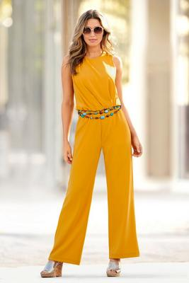 Display product reviews for Beyond Travel™ Sleeveless Jumpsuit