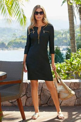 Display product reviews for Beyond Travel™ Chic-Zip Dress