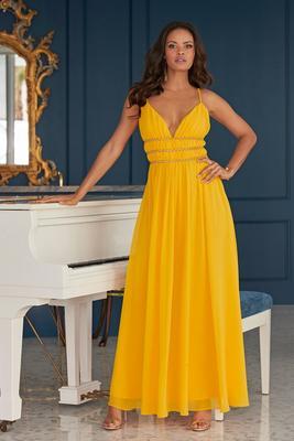 Embellished Occasion Maxi Dress
