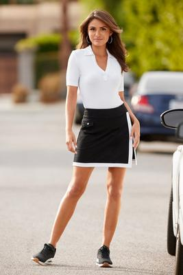 Chic Sport Color-Block Skort