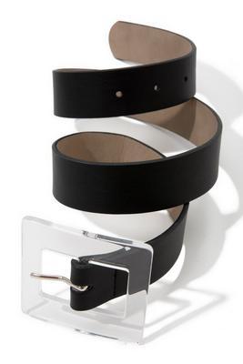 Classic Clear Buckle Fashion Belt