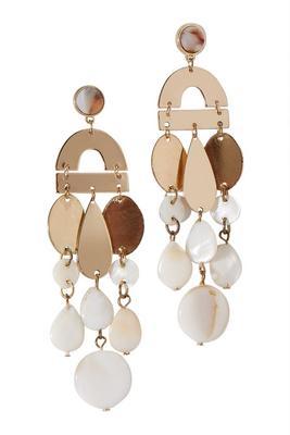 shell dangle earrings