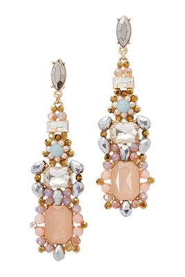 Over-the-Top Colorful Gemstone Earrings
