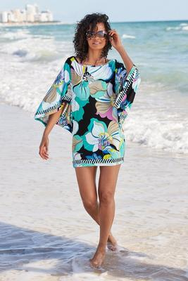 Sintra Floral Tunic Cover-Up