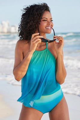 Display product reviews for Ombré Flounce Tankini