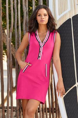 Stripe Lined Sport Dress