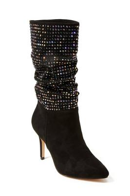 sparkle slouch boot