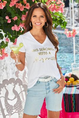 This Senorita Needs A Margarita Tee