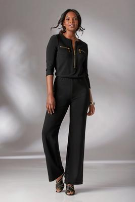 Beyond Travel™ Zipper Jumpsuit