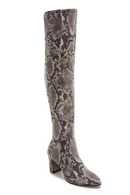 Python Over-The-Knee Boot