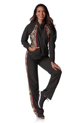 Display product reviews for Animal Print Sport Warm-Up Set