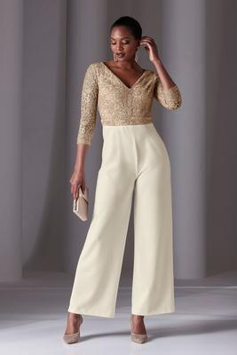 Embroidered And Embellished Jumpsuit
