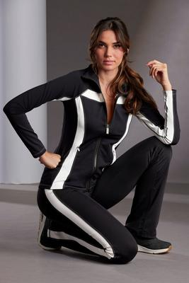 Display product reviews for Color Block Sport Warm-Up Set