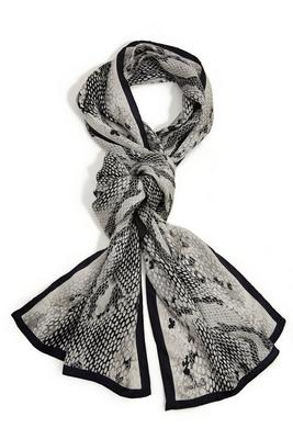 python neck scarf