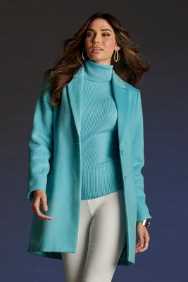 Lined Topper Coat