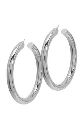 Thick Statement Hoop Earrings