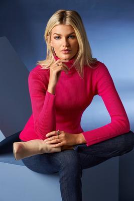 Beyond Basics Ribbed Turtleneck Sweater