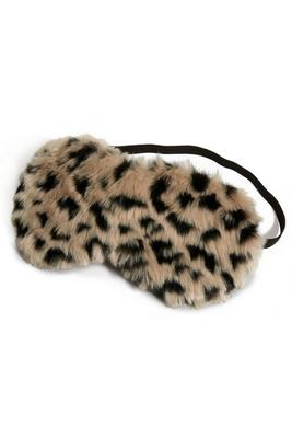 faux-fur eye mask