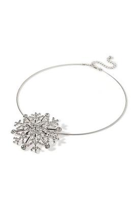 Display product reviews for Snowflake Necklace