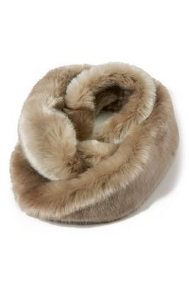 faux-fur eternity scarf