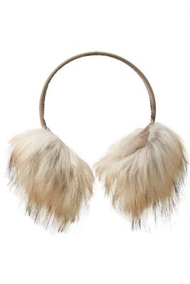 cozy faux-fur ear muffs