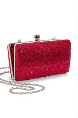 glam embellished clutch