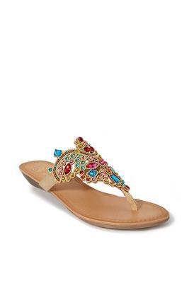 Embellished Crystal Sandal