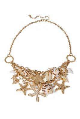 sealife layered necklace