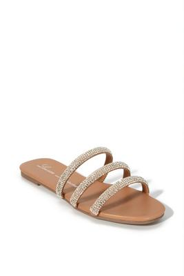 Display product reviews for Embellished Strappy Sandal