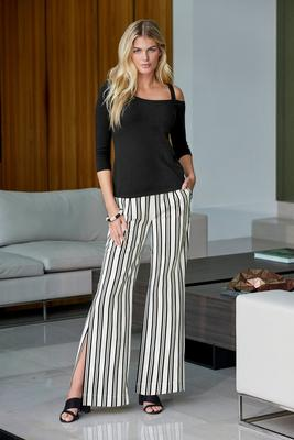Display product reviews for Stripe Trouser Pant