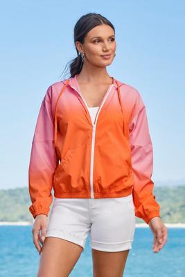 Ombre Windbreaker Jacket