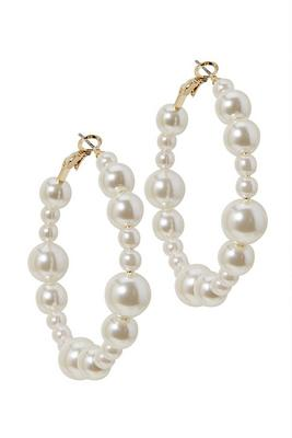 Display product reviews for Multi-Size Pearl Hoop Earring