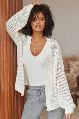 Display product reviews for Cozy Cardigan