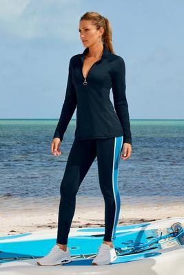 b-active high-waist color block sport legging