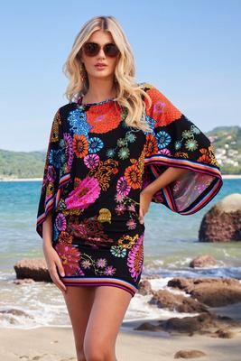 Electric Reef Tunic Cover Up
