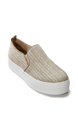 Raffia Slip-On Sneaker