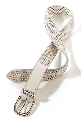 Mixed Metal Studded Belt