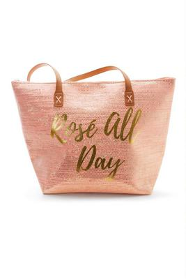 Rosé All Day Beach Bag
