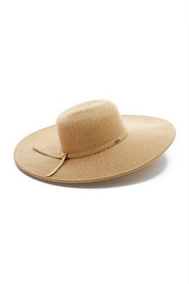 Natural Wide Brim Hat