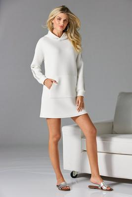 Rhinestone Trim Sport Tunic Dress