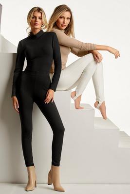 Knit Ponte Pull-On Legging