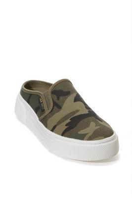 Camo Slide-On Sneaker