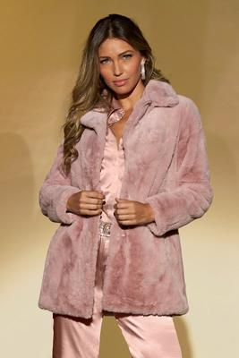 Faux-Mink Coat
